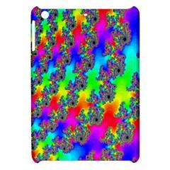 Digital Rainbow Fractal Apple Ipad Mini Hardshell Case