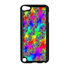 Digital Rainbow Fractal Apple Ipod Touch 5 Case (black) by Simbadda