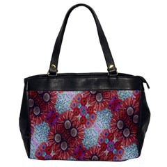 Floral Flower Wallpaper Created From Coloring Book Colorful Background Office Handbags by Simbadda