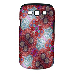 Floral Flower Wallpaper Created From Coloring Book Colorful Background Samsung Galaxy S Iii Classic Hardshell Case (pc+silicone)