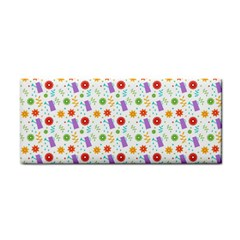 Decorative Spring Flower Pattern Cosmetic Storage Cases by TastefulDesigns