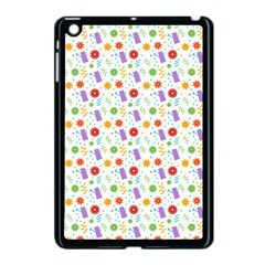 Decorative Spring Flower Pattern Apple Ipad Mini Case (black) by TastefulDesigns