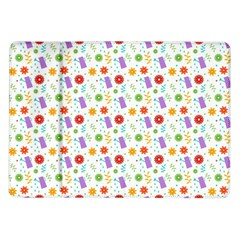 Decorative Spring Flower Pattern Samsung Galaxy Tab 10 1  P7500 Flip Case by TastefulDesigns