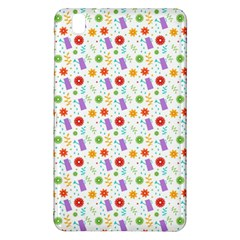 Decorative Spring Flower Pattern Samsung Galaxy Tab Pro 8 4 Hardshell Case by TastefulDesigns