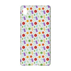 Decorative Spring Flower Pattern Sony Xperia Z3+ by TastefulDesigns