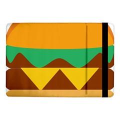 Hamburger Bread Food Cheese Samsung Galaxy Tab Pro 10 1  Flip Case by Simbadda