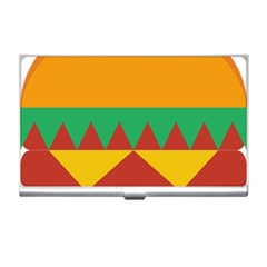 Burger Bread Food Cheese Vegetable Business Card Holders by Simbadda