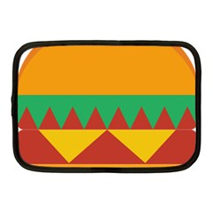 Burger Bread Food Cheese Vegetable Netbook Case (medium)  by Simbadda