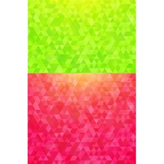 Colorful Abstract Triangles Pattern  5 5  X 8 5  Notebooks by TastefulDesigns