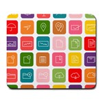 Icons Vector Large Mousepads Front