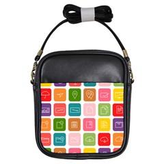 Icons Vector Girls Sling Bags by Simbadda