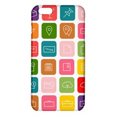 Icons Vector Iphone 6 Plus/6s Plus Tpu Case by Simbadda