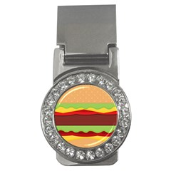 Vector Burger Time Background Money Clips (CZ)  by Simbadda