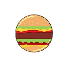 Vector Burger Time Background Hat Clip Ball Marker by Simbadda