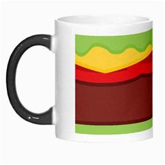 Vector Burger Time Background Morph Mugs by Simbadda