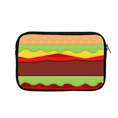 Vector Burger Time Background Apple Macbook Pro 13  Zipper Case by Simbadda