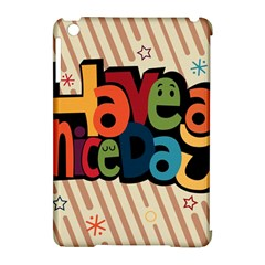 Have A Nice Happiness Happy Day Apple Ipad Mini Hardshell Case (compatible With Smart Cover) by Simbadda