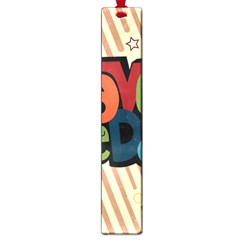 Have A Nice Happiness Happy Day Large Book Marks by Simbadda
