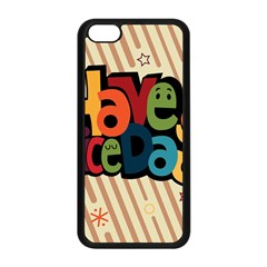 Have A Nice Happiness Happy Day Apple Iphone 5c Seamless Case (black) by Simbadda