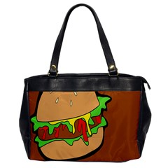 Burger Double Office Handbags by Simbadda