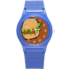 Burger Double Round Plastic Sport Watch (s) by Simbadda