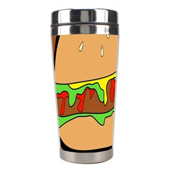 Burger Double Stainless Steel Travel Tumblers by Simbadda