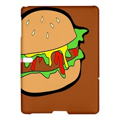 Burger Double Samsung Galaxy Tab S (10 5 ) Hardshell Case  by Simbadda