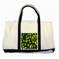 Seamless Tile Background Abstract Two Tone Tote Bag by Simbadda
