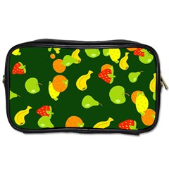 Seamless Tile Background Abstract Toiletries Bags 2 Side