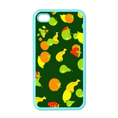 Seamless Tile Background Abstract Apple Iphone 4 Case (color) by Simbadda