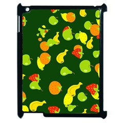 Seamless Tile Background Abstract Apple Ipad 2 Case (black) by Simbadda