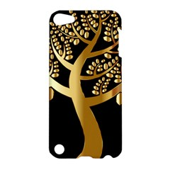 Abstract Art Floral Forest Apple Ipod Touch 5 Hardshell Case by Simbadda
