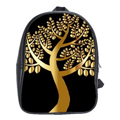 Abstract Art Floral Forest School Bags (xl)  by Simbadda