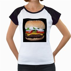 Abstract Barbeque Bbq Beauty Beef Women s Cap Sleeve T by Simbadda