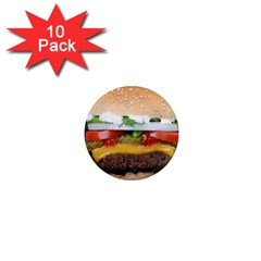 Abstract Barbeque Bbq Beauty Beef 1  Mini Magnet (10 Pack)  by Simbadda
