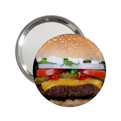 Abstract Barbeque Bbq Beauty Beef 2 25  Handbag Mirrors by Simbadda