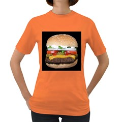Abstract Barbeque Bbq Beauty Beef Women s Dark T Shirt by Simbadda