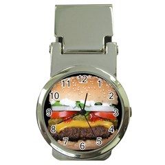 Abstract Barbeque Bbq Beauty Beef Money Clip Watches by Simbadda