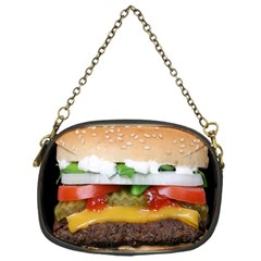 Abstract Barbeque Bbq Beauty Beef Chain Purses (one Side)  by Simbadda