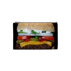 Abstract Barbeque Bbq Beauty Beef Cosmetic Bag (small)  by Simbadda