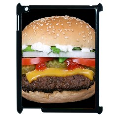 Abstract Barbeque Bbq Beauty Beef Apple Ipad 2 Case (black) by Simbadda