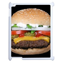 Abstract Barbeque Bbq Beauty Beef Apple Ipad 2 Case (white) by Simbadda