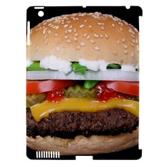 Abstract Barbeque Bbq Beauty Beef Apple Ipad 3/4 Hardshell Case (compatible With Smart Cover) by Simbadda
