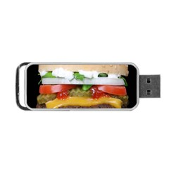 Abstract Barbeque Bbq Beauty Beef Portable Usb Flash (two Sides) by Simbadda
