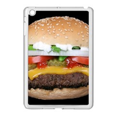 Abstract Barbeque Bbq Beauty Beef Apple Ipad Mini Case (white) by Simbadda