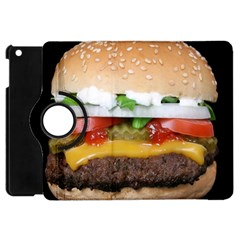 Abstract Barbeque Bbq Beauty Beef Apple Ipad Mini Flip 360 Case by Simbadda