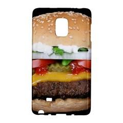Abstract Barbeque Bbq Beauty Beef Galaxy Note Edge by Simbadda