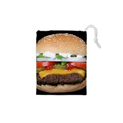 Abstract Barbeque Bbq Beauty Beef Drawstring Pouches (xs)  by Simbadda