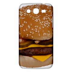 Cheeseburger On Sesame Seed Bun Samsung Galaxy Mega 5 8 I9152 Hardshell Case  by Simbadda
