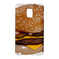 Cheeseburger On Sesame Seed Bun Galaxy Note Edge by Simbadda